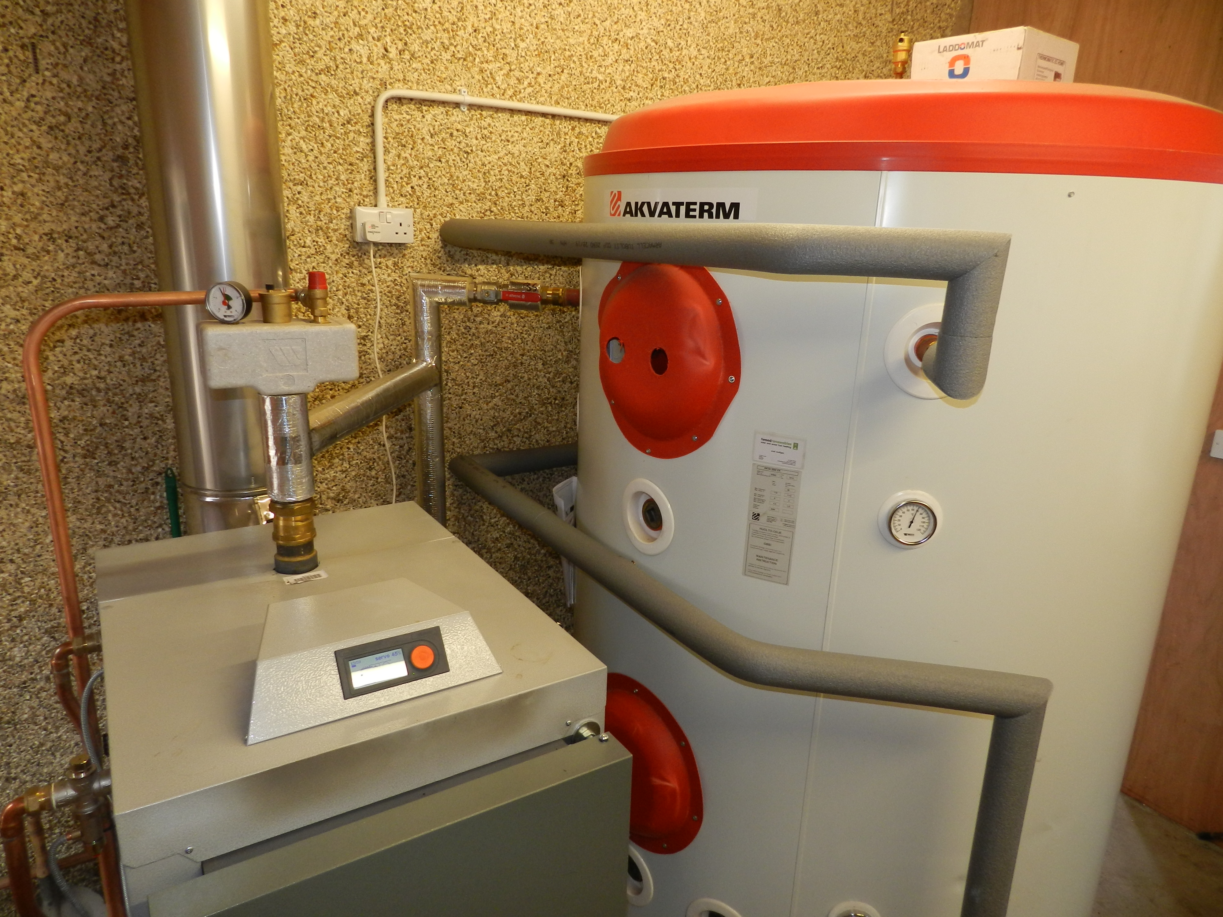 Solar and Wood Fuel Heating - Woodfuel Biomass in the Scottish Borders
